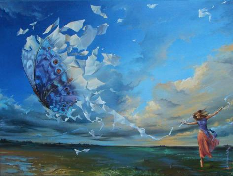 dancing in the breeze